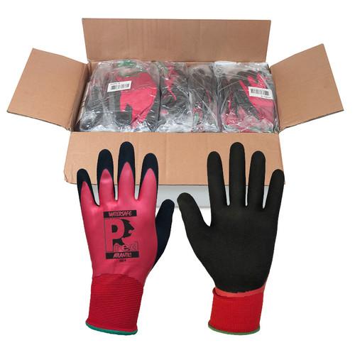 Atlantic Waterproof latex glove size 9 (L) Box of 120 Prs