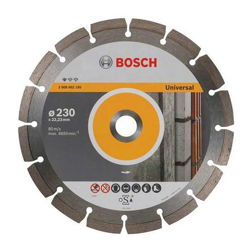Bosch 2608615065  230mm x 22mm bore Pro Universal Diamond Blade