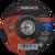 Abracs Phoenix II Metal Grinding Disc 100mm x 6mm x 16mm