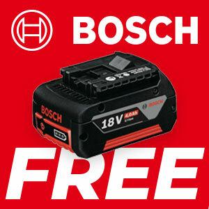 Bosch Professional 18V FREE Battery