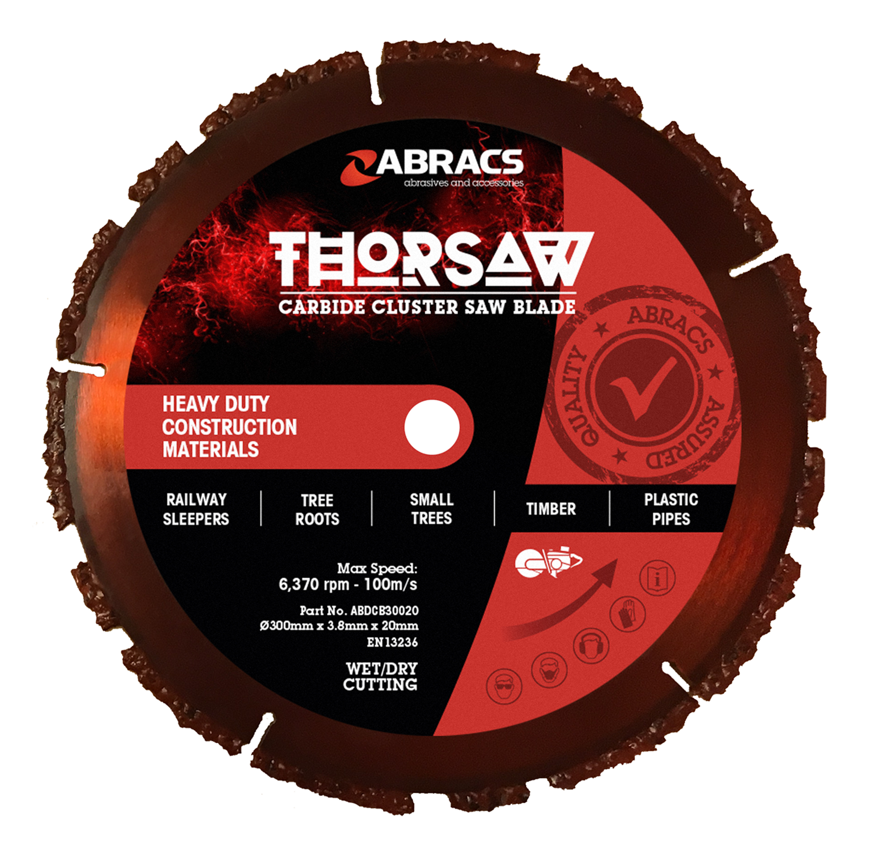 Thorsaw Carbide Cluster Saw