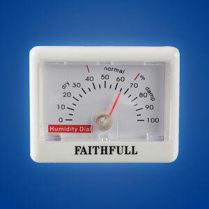 Faithfull Thermometers & Hygrometers