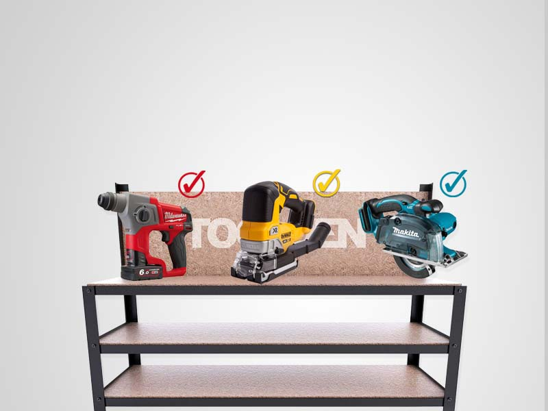 Build Your Cordless Tool Kits
