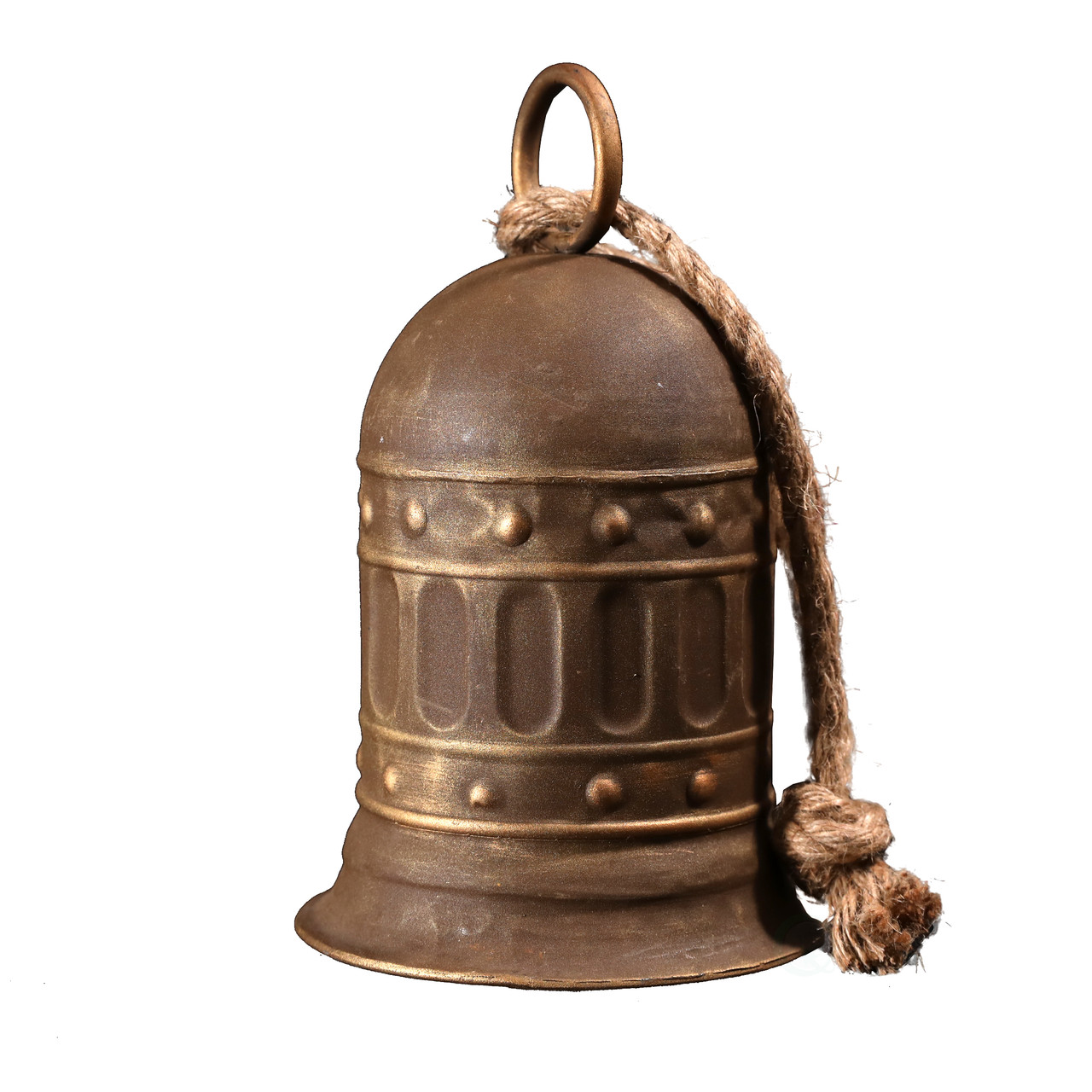 7 In Antique Style Large Decorative Metal Bell For Garden And Home Decor Vintiquewise