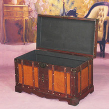 Antique Style Steamer Trunk