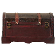 Leather Wooden Chest