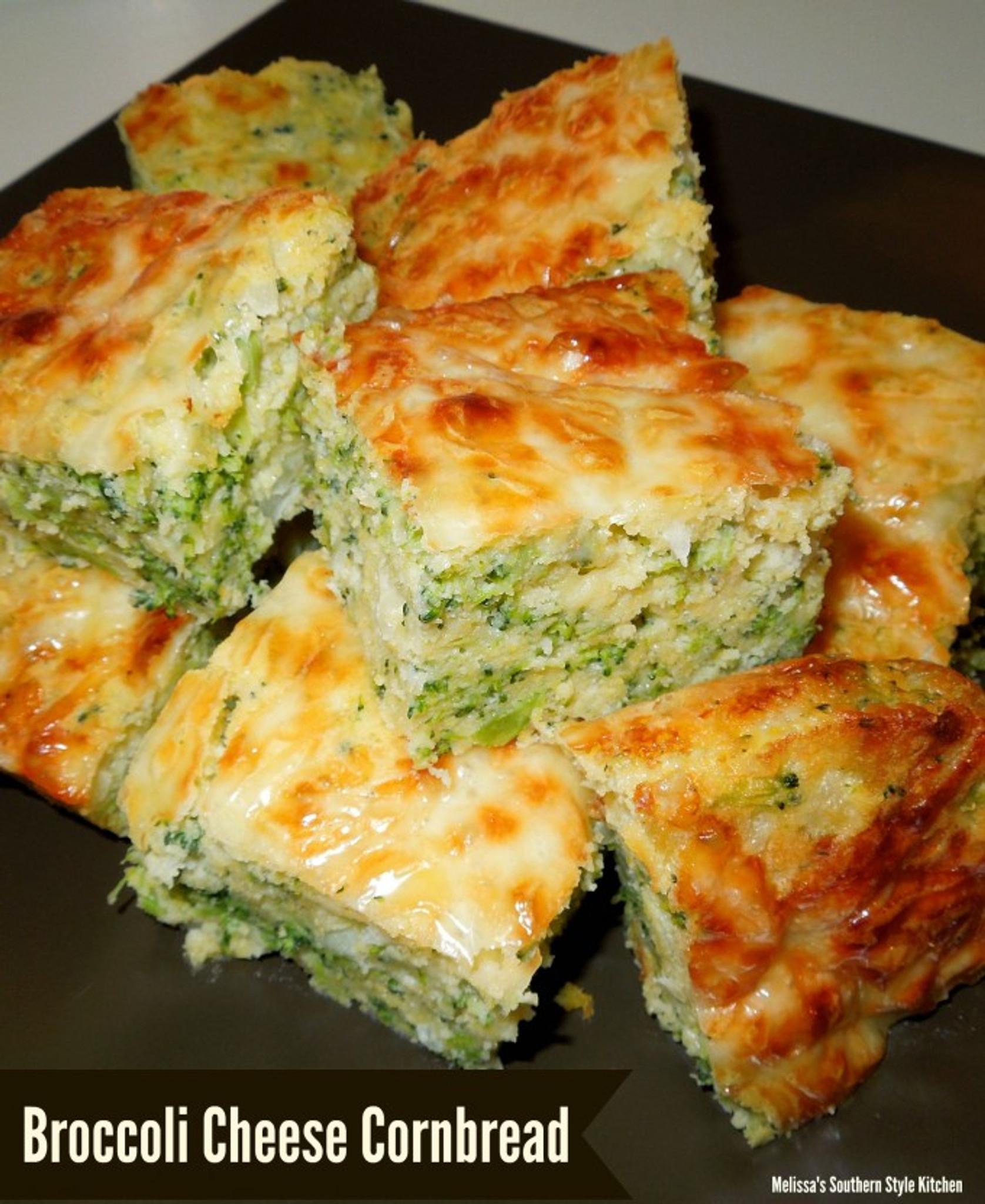 Broccoli Cheese Cornbread-1485