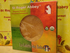 """Organic French Traditional """"Galette des Rois"""""""