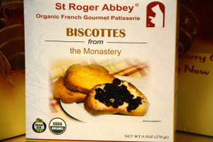 ORGANIC BISCOTTES FROM THE MONASTERY