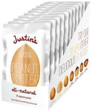 Classic Almond Butter 10-Pack (10 x 1.15 oz. squeeze pack)