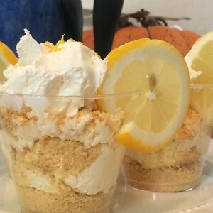 Lemon Cheesecake Parfait