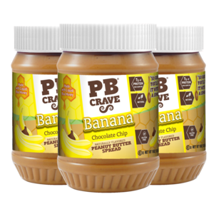 Banana Chocolate Chip Peanut Butter - 3 Pack