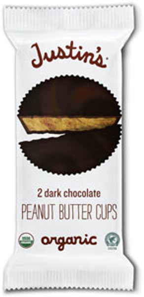 DARK CHOCOLATE PEANUT BUTTER CUPS - 12 pack