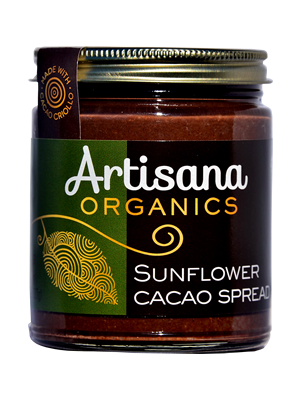 Sunflower Cacao Spread (8oz)  Cacao & Sunflower Butter Decadence
