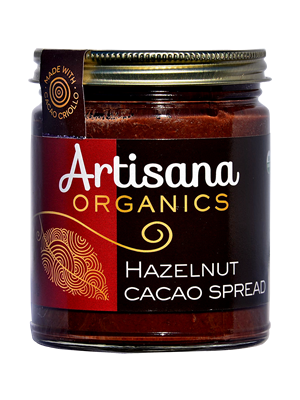 Hazelnut Cacao Spread (8oz) Cacao & Hazelnut Butter Decadence