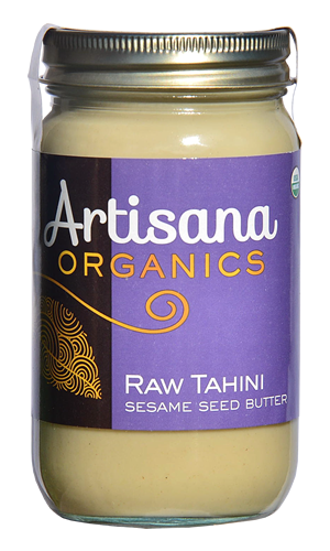 Raw Tahini  Raw 100% Organic Pure Ground Sesame Seeds