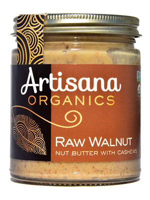 Walnut Butter (8oz)  Raw 100% Organic Walnut Butter