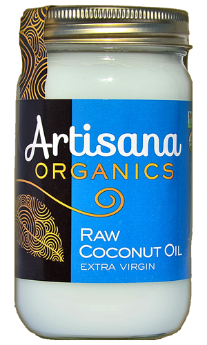Coconut Oil (14oz)  Raw 100% Organic Cold Pressed Virgin Coconut Oil