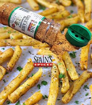 Spain's Gourmet Garlic & Herb Seasoning 5.6 oz - Gluten Free, Sugar Free, No MSG, No GMO