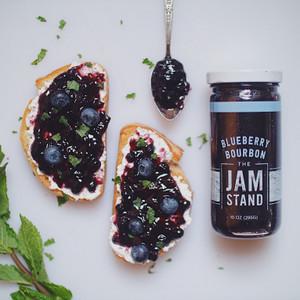 Blueberry Bourbon Jam - The Jam Stand