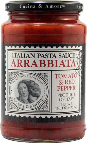 Cucina & Amore Italian Pasta Sauce Arrabbiata Tomato & Red Pepper