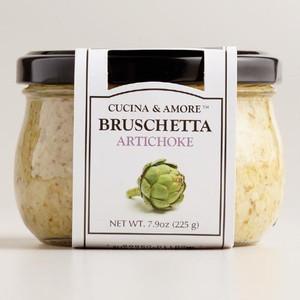 Cucina & Amore Artichoke Bruschetta,  7.9 Oz. Set of 6