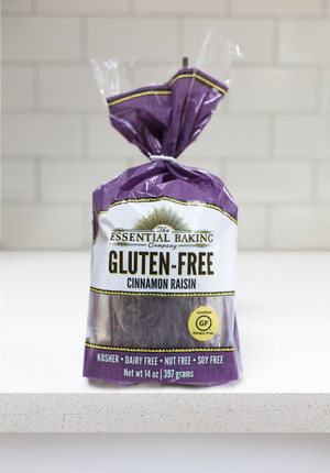 Gluten-Free Cinnamon Raisin Bread - Case of 6 - Essential Baking