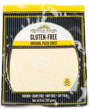 Gluten-Free 10″ Pizza Crust - Case of 12 - Essential Baking