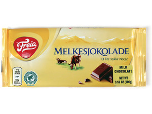 Freia Milk Chocolate Bars 100g