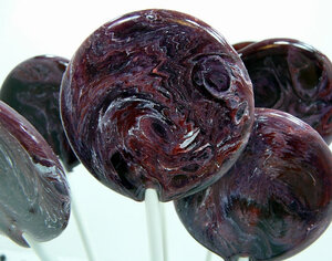 Blackberry Merlot Mulled Wine Lollipops - 7 Included