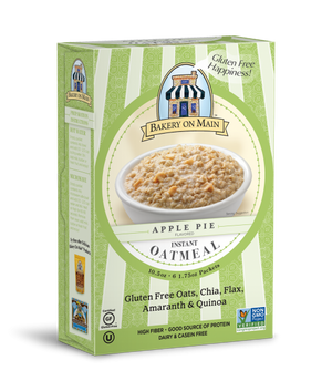 Apple Pie Flavor Instant Oatmeal