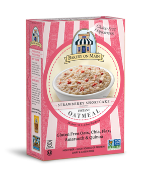 Strawberry Shortcake Flavor Instant Oatmeal