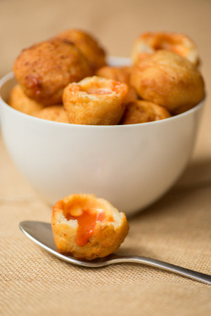 GRILLED CHEESE TOMATO SOUP DUMPLINGS