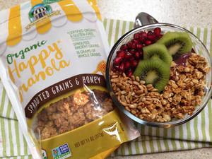 Organic Happy Granola Sprouted Grains & Honey
