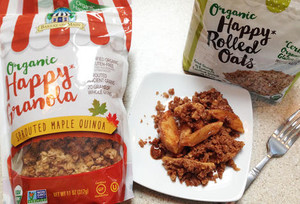 Organic Happy Granola Sprouted Maple Quinoa