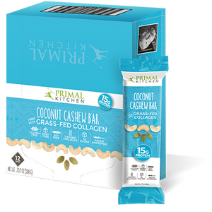 PRIMAL KITCHEN COCONUT CASHEW BARS (12 PACK)