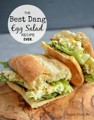 BEST EVER EGG SALAD SANDWICH