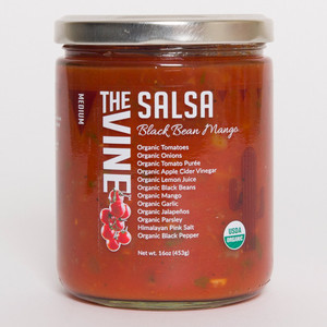 Organic Mild Smooth Salsa (Medium Black Bean Mango)