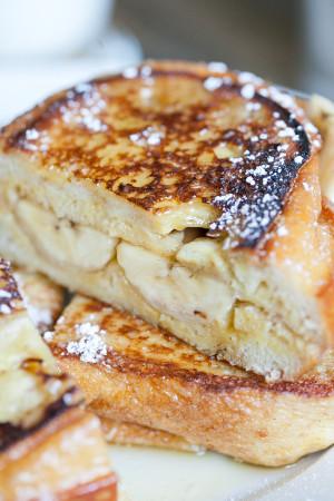 Banana French Toast Sandwiches