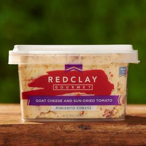 Red Clay Gourmet- Goat Cheese & Sun-Dried Tomato Pimento Cheese