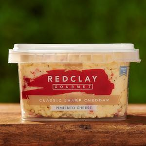 Red Clay Gourmet Classic Sharp Cheddar Pimento Cheese
