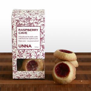 Raspberry Cave Swedish Cookies