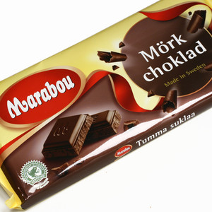 Marabou Swedish Dark Chocolate Bar