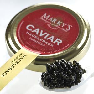 American Hackleback Caviar - Malossol - 4 oz glass jar