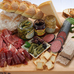 Gourmet Meat and Salami Platter