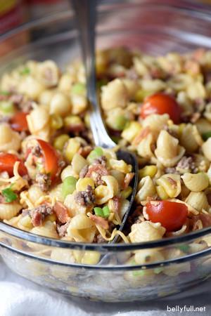 Cowboy Pasta Salad - per 1 pound