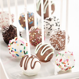 Cake Pop Assortment - 45 pieces per tray