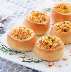 Lobster Bisque Boule - 18 pieces per tray