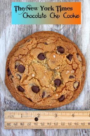 NEW YORK TIMES CHOCOLATE CHIP COOKIES (GF) - 1 Dozen
