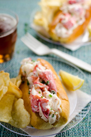 Maine Lobster Salad Roll - 4 pack